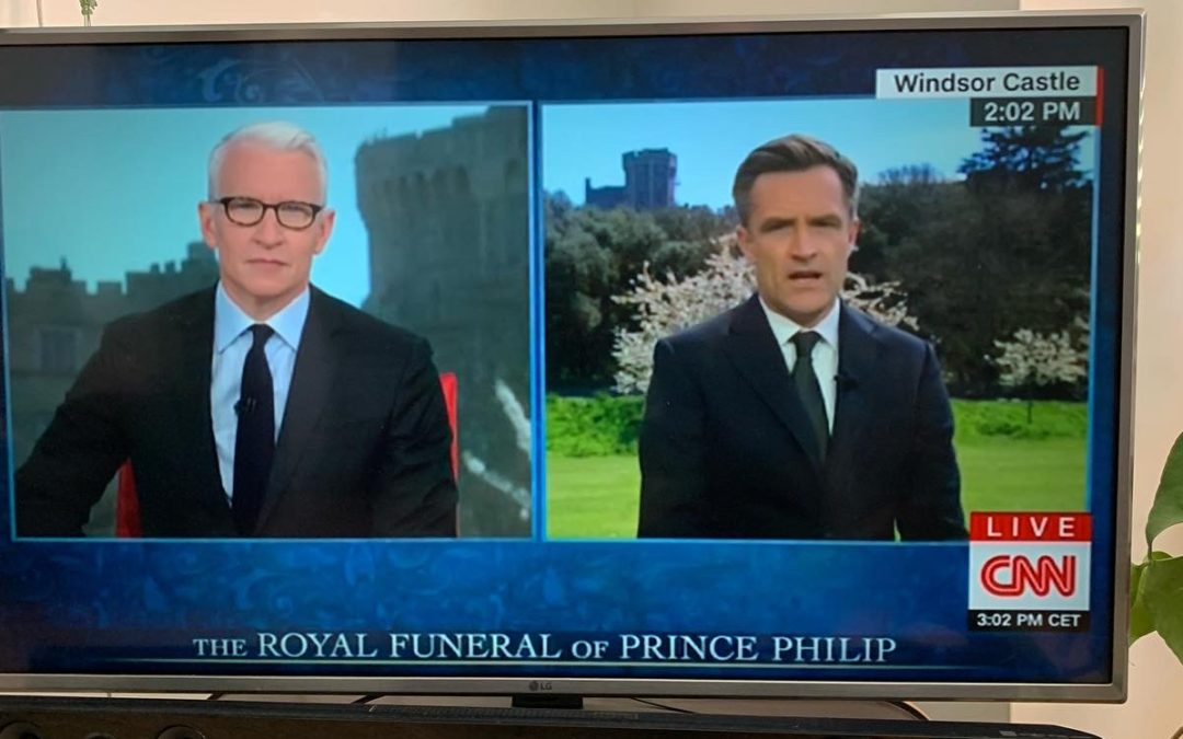 CNN tests Sapphire codec for international coverage of Royal funeral