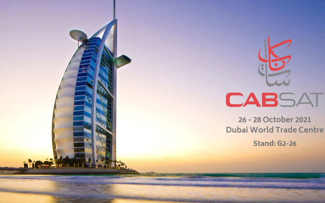 Broadcast Wireless Systems to showcase innovations in broadcast-quality video/audio at CABSAT in Dubai